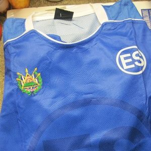 2c7172d42 Shirts - XL Men s Soccer Jersey with Emblem of El Salvador